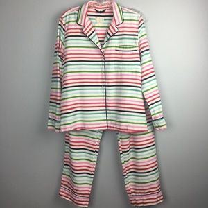 AWESOME KATE SPADE FLANNEL PJS SIZE MEDIUM (8-10)